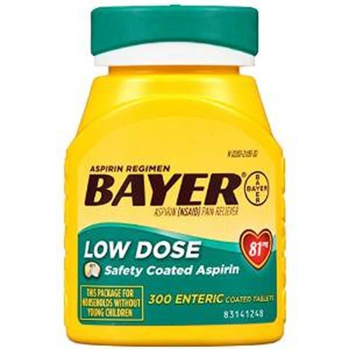Aspirin Regimen Bayer Low Dose dosis rendah obat cegah jantung stroke