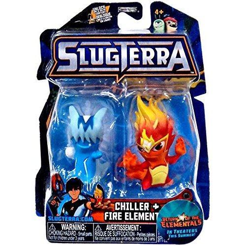 Slugterra Chiller and Fire Elemental Mini Figures