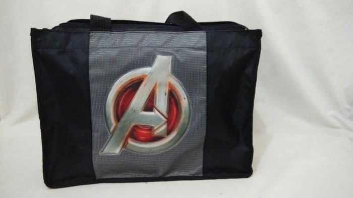 Hemat 10%!! Tas Shoulder Bag Avengers - Adinata - Kantong Tote Les Anak - ready stock