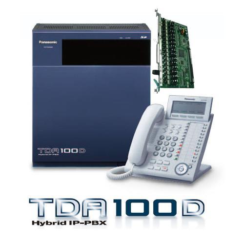 Panasonic IP PBX PABX KX-TDA100D + KX-DT333  Kap. 8 CO - 44 Extension