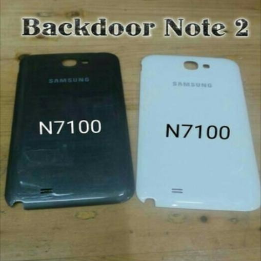 BACKDOOR BACK COVER TUTUP CASSING Battery  For Samsung Galaxy Note 2 N-7100