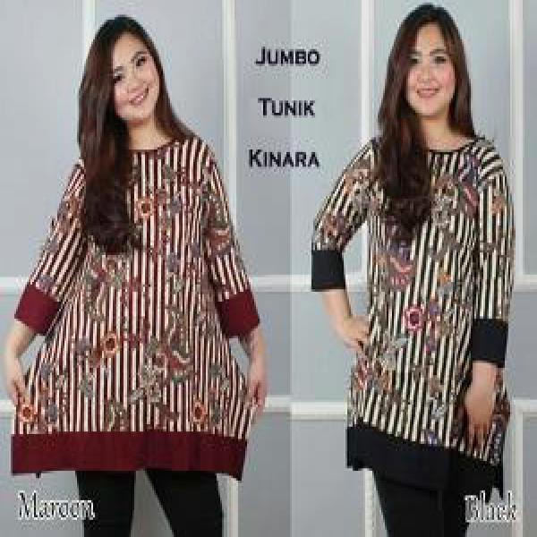 Couplelover Baju Jumbo Salwa Berry Cream 78 Jumbo Fashion Blouse ... 8fc6f82839