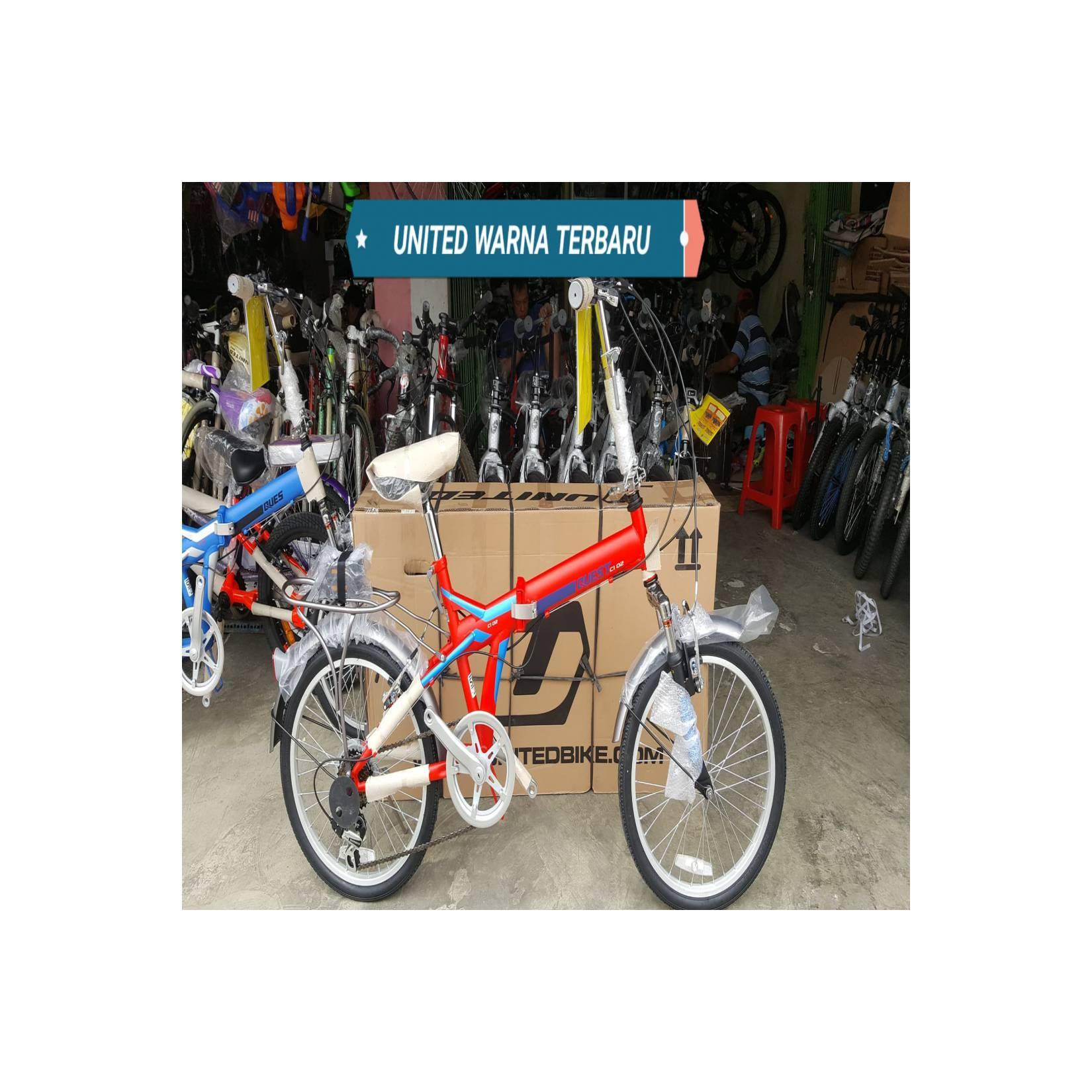 Sepeda 20 Lipat United Quest Terbaru