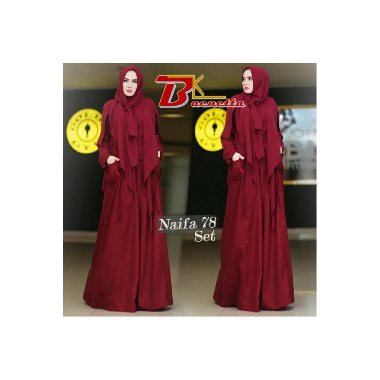 List Harga Setelan Hijab Jasmin 3in1 Terbaru Kini 1 Baju Muslim 3 In Blouse Kulot Hoodie Linen Rami