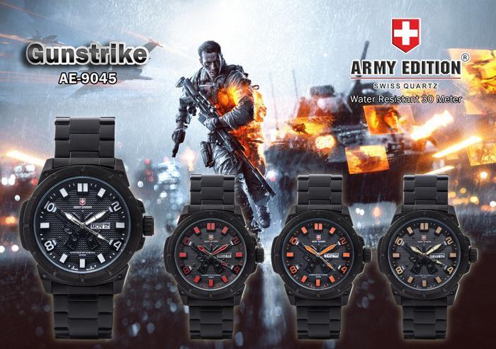 Best Top Seller!! Jam Tangan Pria Merk Army Edition Type Ae 9045 Original - ready stock