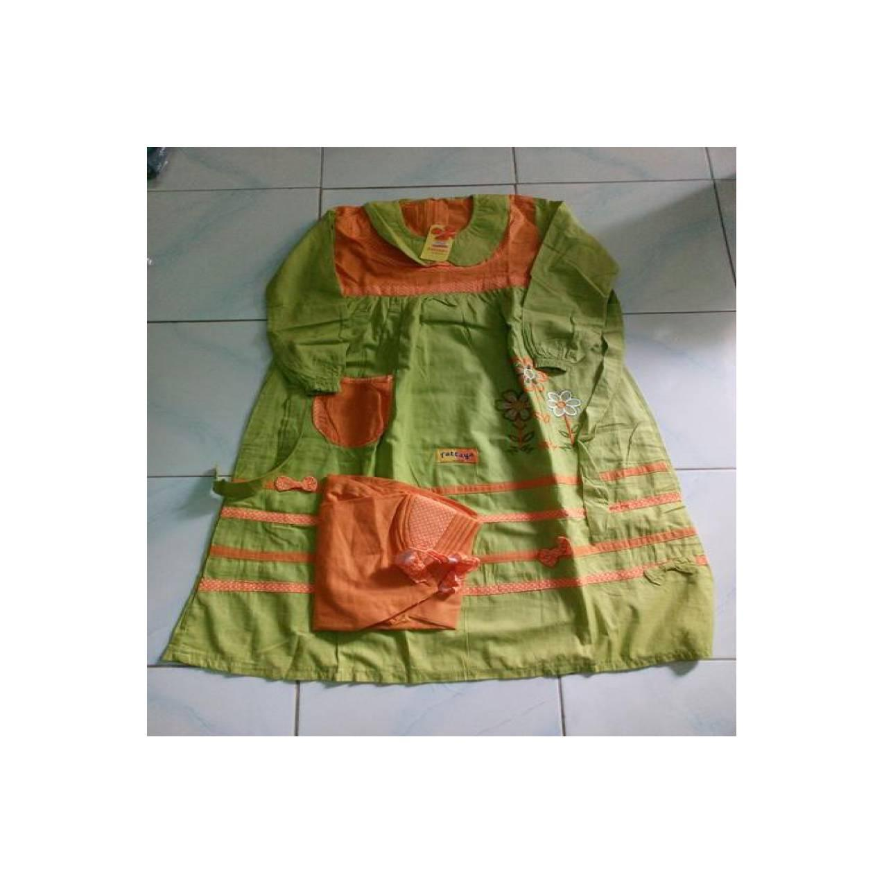 Jual baju muslim anak - gamis fattaya Baru   Baju Gaun / Dress Anak