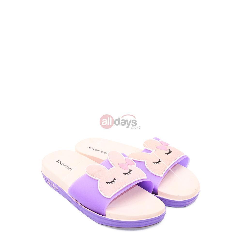 Porto Sandal Selop Wanita ZQ 368 - Purple
