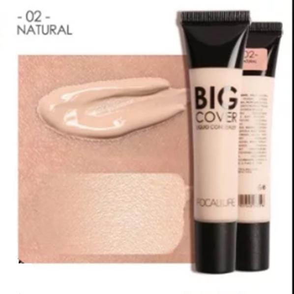 Focallure Baru Sempurna Wajah Kontur Concealer Cair Makeup Kosmetik #3. IDR 39,000 IDR39000. View Detail. FOCALLURE Big Cover Liquid Concealer