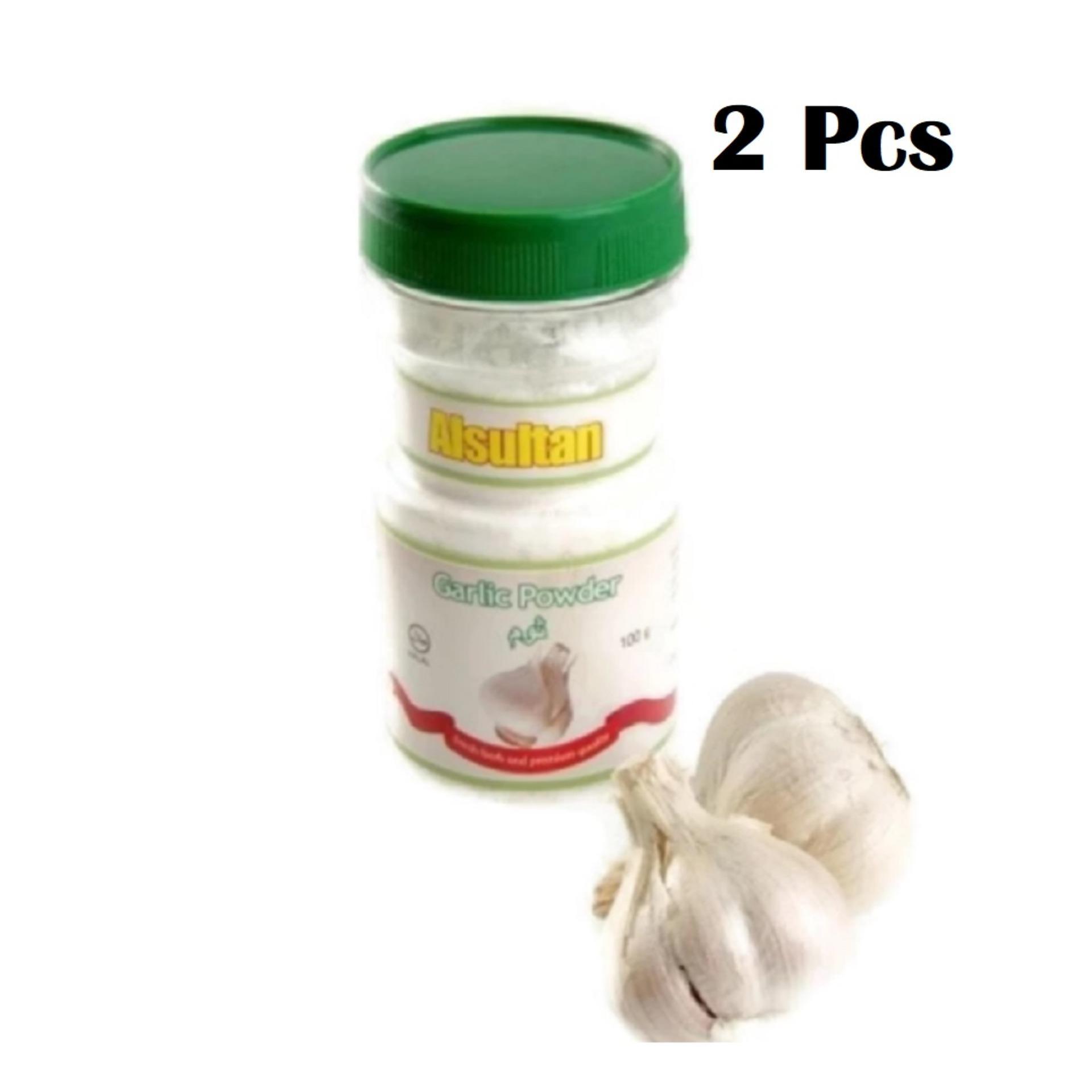 Bawang Putih Bubuk Halus Garlic Powder Al Sultan 80 gr - 2 Pcs