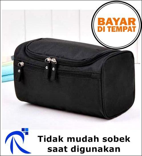 Rimas COD Tas Travel Organizer Portable - Hitam   Black - Bag Tempat  Penyimpanan Perlengkapan Travelling 4b636971f6