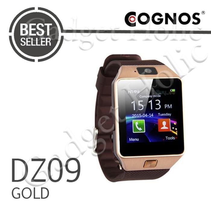 Onix Cognos ZGPAX Smartwatch U9 DZ09 - GSM Sim Card TERMASUK BOX - Strap Karet