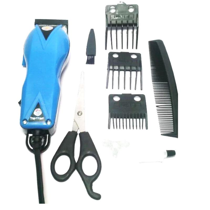 Happy King HK-900 Alat Cukur Rambut Hair Clipper Trimmer Mesin Potong Professional Groomer 3 Mata Pisau Tajam Hemat Energi