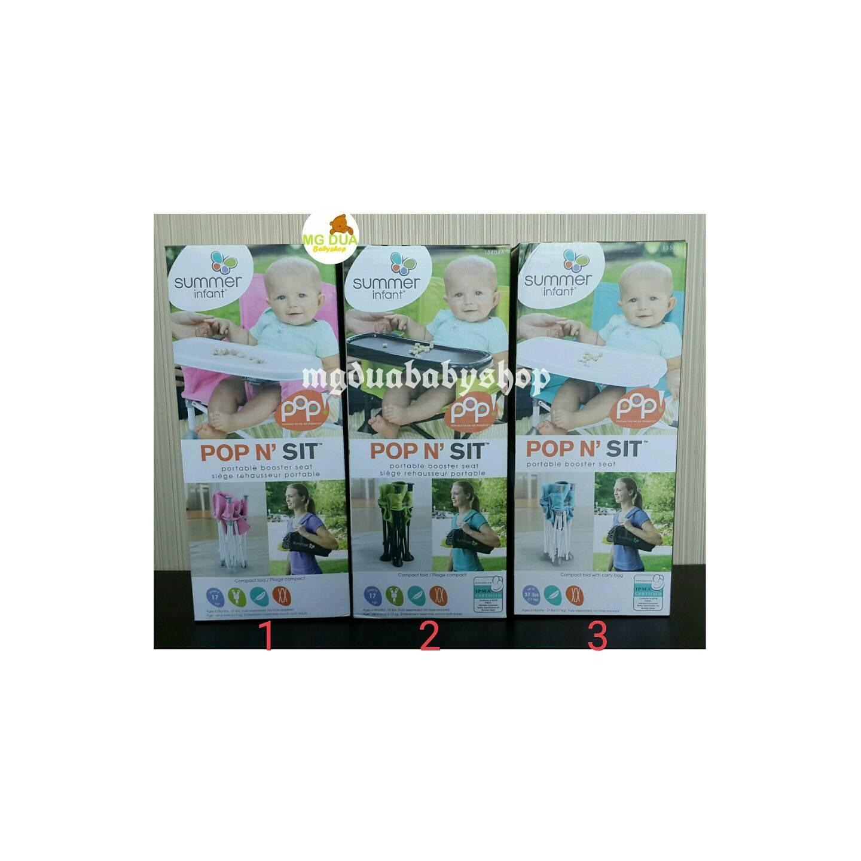 Summer Infant POP N SIT Portable Booster Seat Kursi Bayi