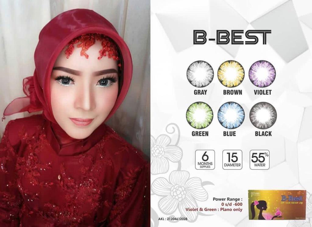 Softlens B Best (normal) By Grosirsoftlensku.