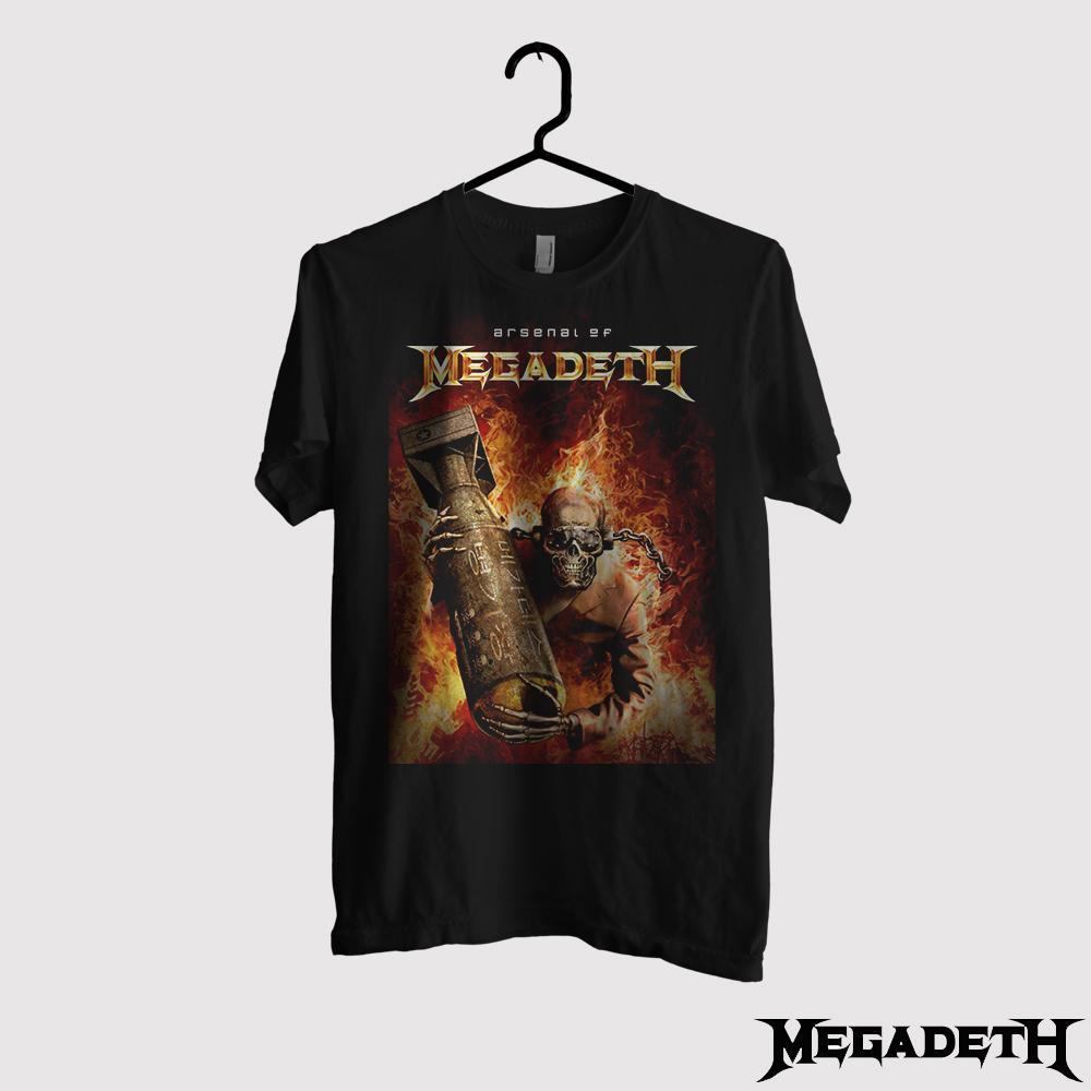 Kaos Megadeth Original Gildan - Arsenal