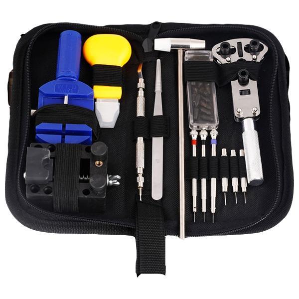 Jackly Alat Service Jam Tangan Set Lengkap Watch Watch Tools Kit Full Set Pemotong