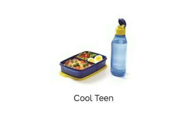 TUPPERWARE best seller  Cool Teen - kotak makan 1 set