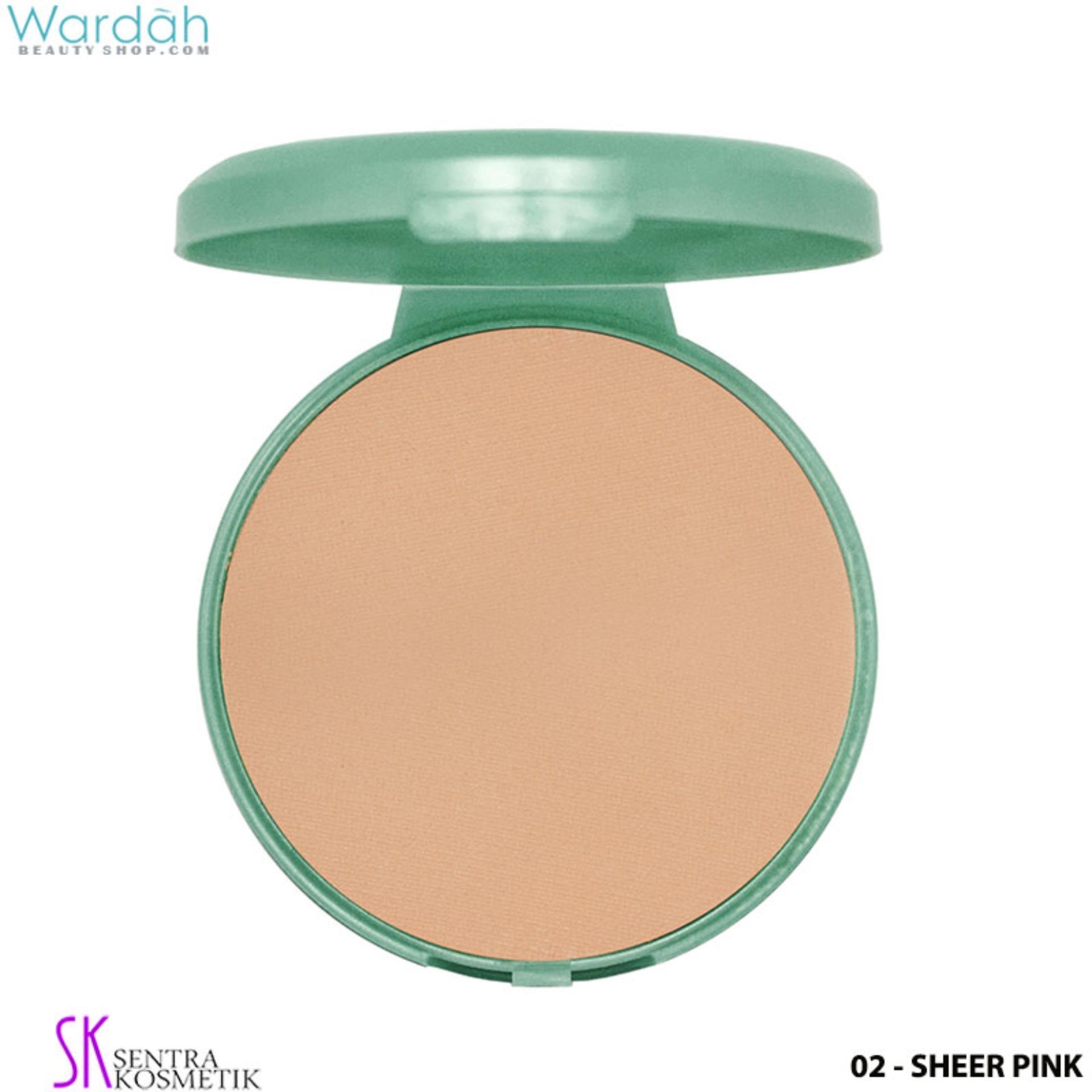 Wardah EXCLUSIVE REFILL Two Way Cake 02 - Sheer Pink