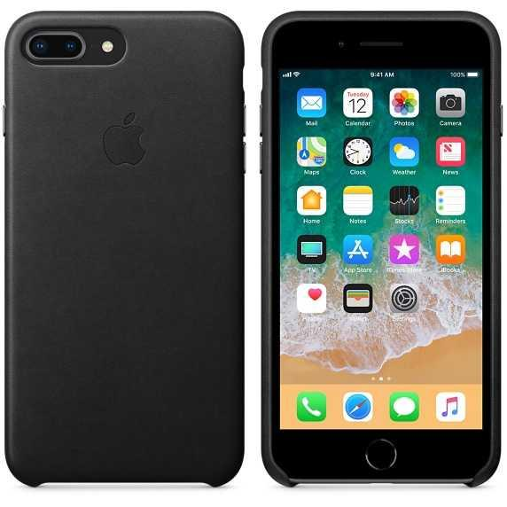 Ori Apple Leather Case iPhone 8 Plus