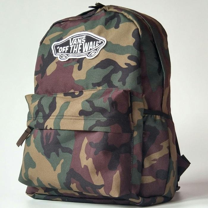 HARGA PROMO!!! Tas Sekolah Kerja Ransel Laptop Vans Old Skool Ii Motif Army Backpack