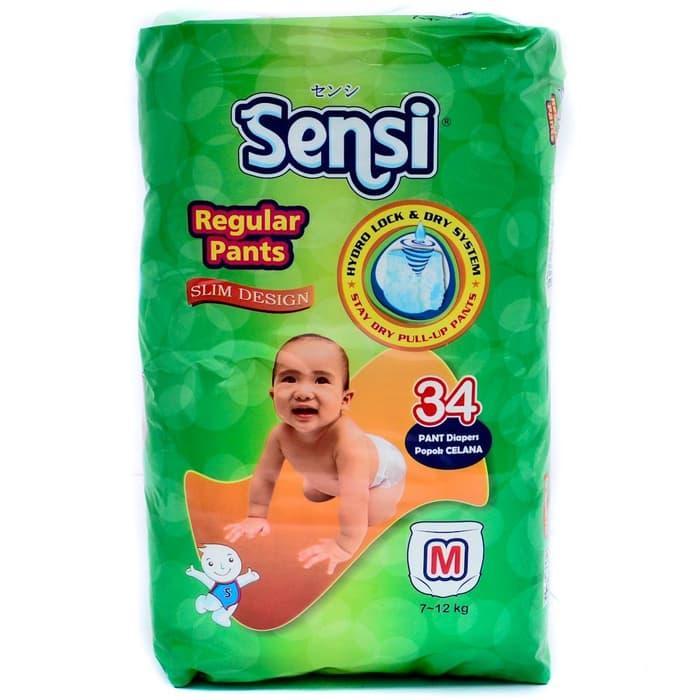 Sale Sensi Regular Pants M 34 Popok Bayi Anak Model Celana M34 Diapers Pant Murah Promo