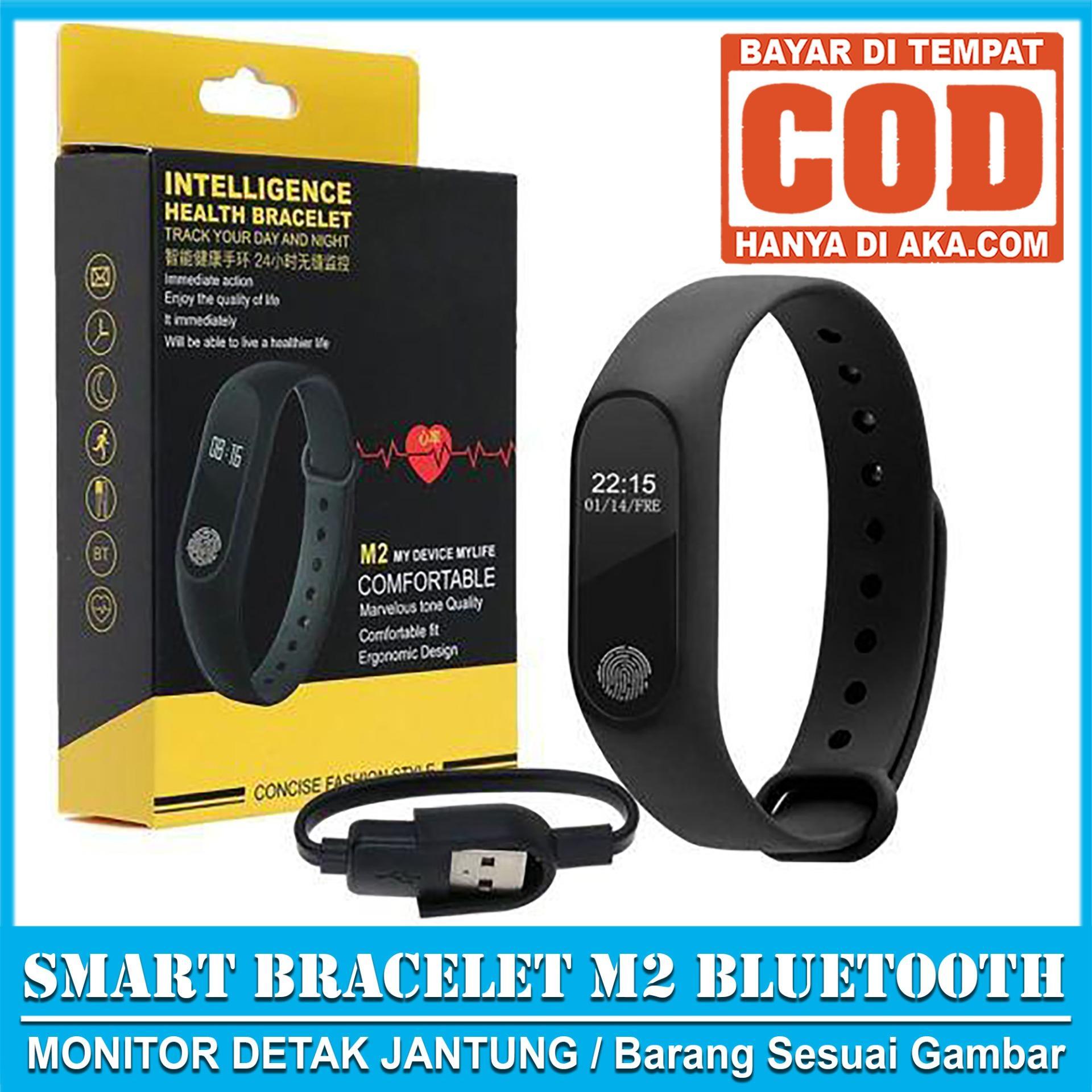 M2 Smartwatch Smart Watch M2 Sport Band Smartband Heart Rate M2 My Device My Life - Mi Band 2 High Quality