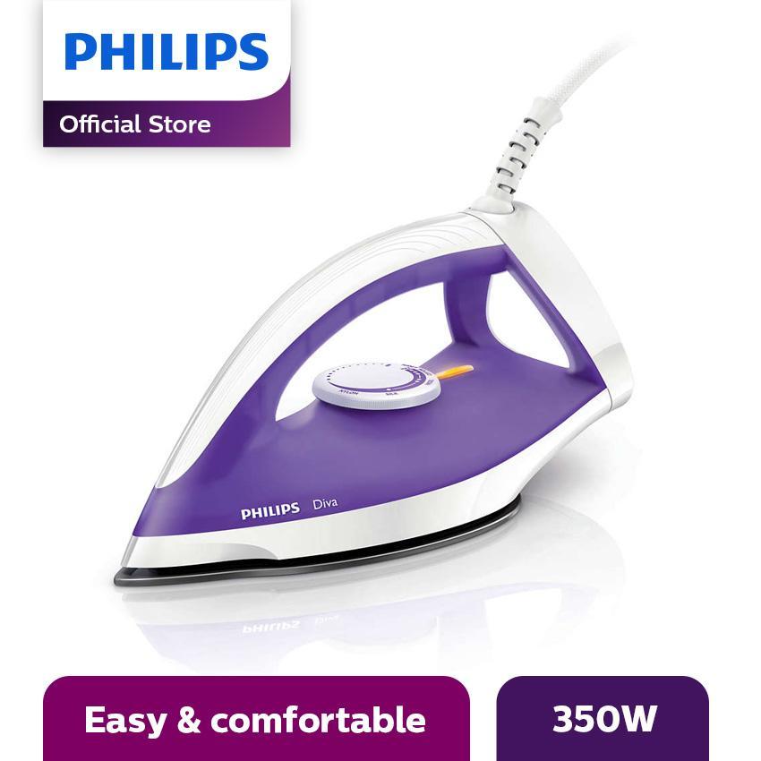 Philips Gc122/37 Setrika Kering - Ungu By Lazada Retail Philips.