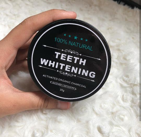 TERLARIS Charcoal Powder Activated Teeth Whitening Pot - Pemutih Gigi  Paling Ampuh - Obat Pemutih Gigi 446039da54