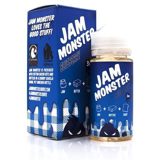 Jam Monster Vape Liquid 3mg Rokok Elektrik - Blueberry