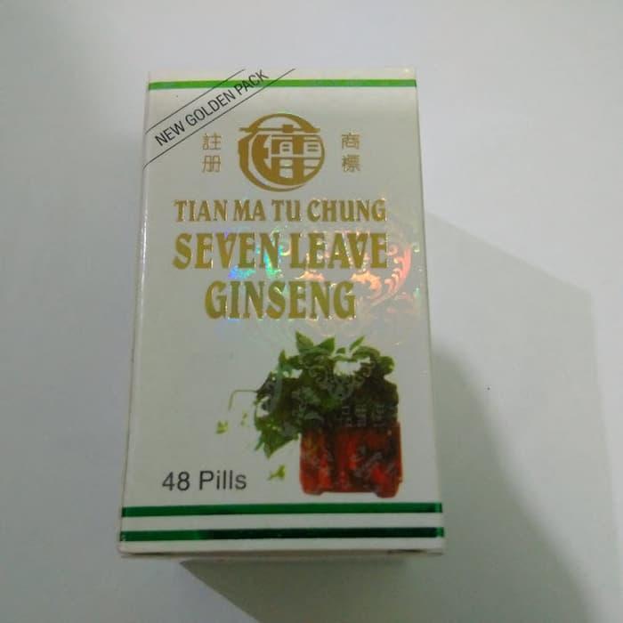Obat Reumatik Seven Leave Ginseng Laris Manis