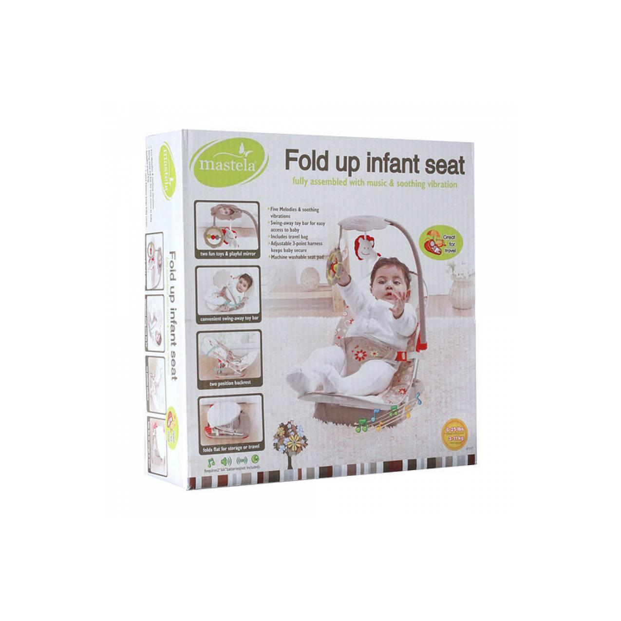 Mastela Fold Up Infant Seat / Kursi Bayi / Bouncer Bayi / Kursi Makan