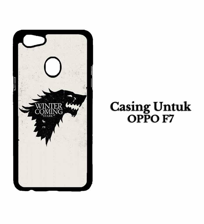 Casing OPPO F7 Game Of Thrones Stark Hardcase Custom Case Snitchshop