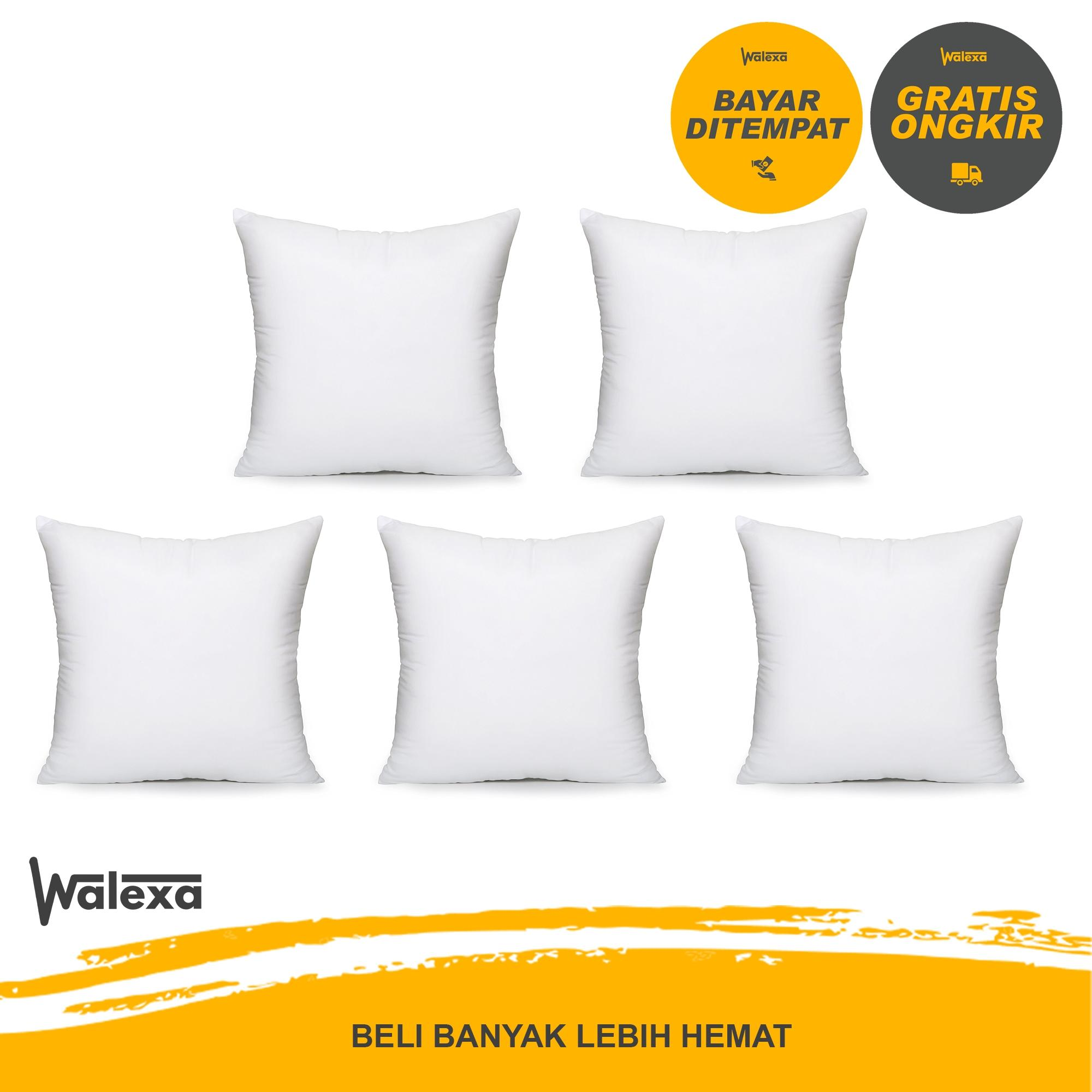 Paket 5 Pcs Promo Bantal Sofa Tamu 40 x 40 cm - Kursi - Bantal Standar Hotel  (Hanya Bantal)
