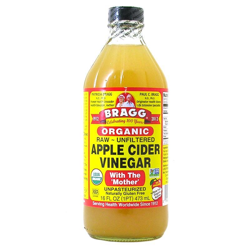 Bragg Apple Cider Vinegar - 473 mL ( Cuka Apel Bragg )