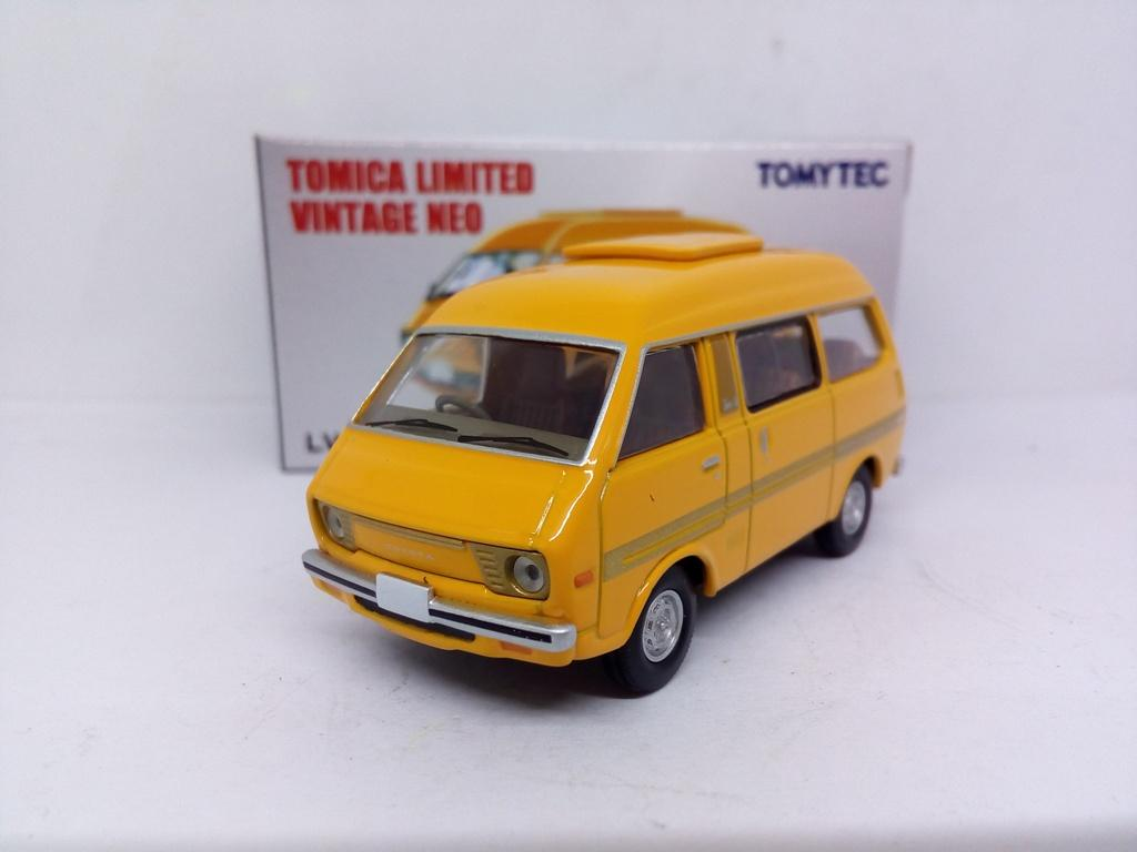 TOMYTEC TOMICA LIMITED VINTAGE NEO LV-N99 Toyota TOWNACE WAGON Yellow