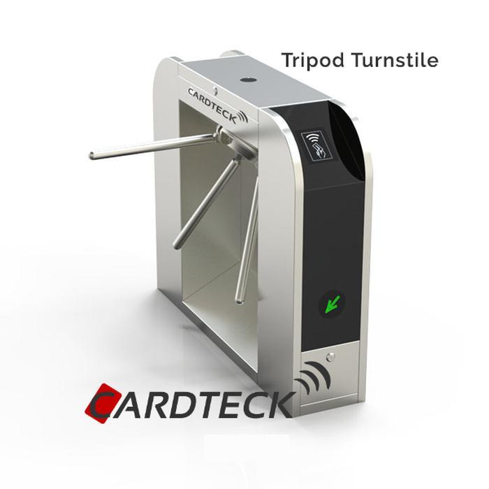 Original Paket Akses Kontrol Tripod Turnstile Cardteck CT-TP111 & RFID 125Khz