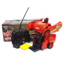 Miracleonlineshop 12365 mainan remote control cars mc queen mobil jadi robot charger