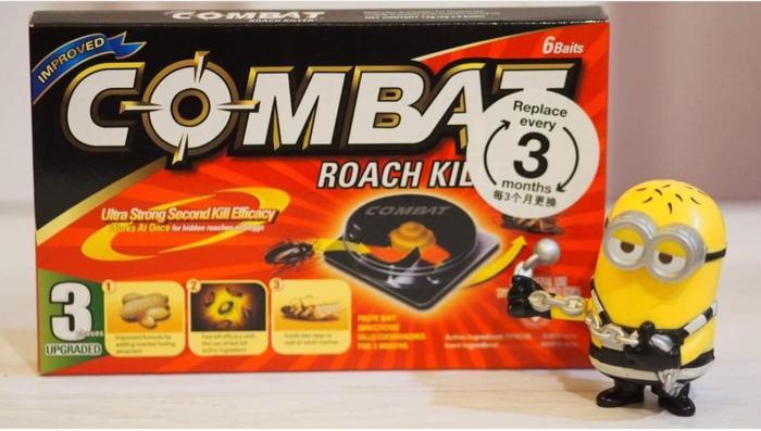 Combat Roach Killer/Pembasmi Kecoa Terlaris di Lazada