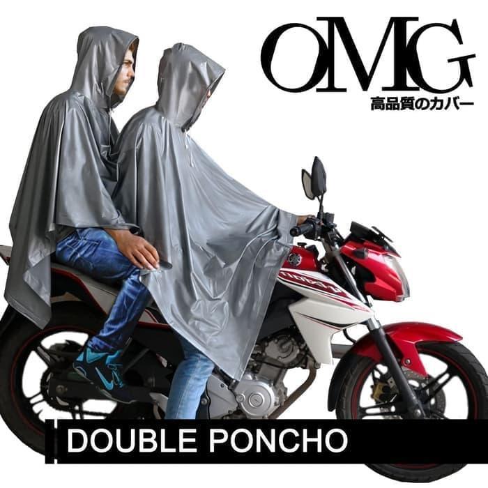 ... Mobil Listrik Sepeda Motor Tunggal Pria dan WanitaIDR403500. Source · Jas Hujan OMG Motor Karet PVC Terusan Pasangan Double Ponco Raincoat