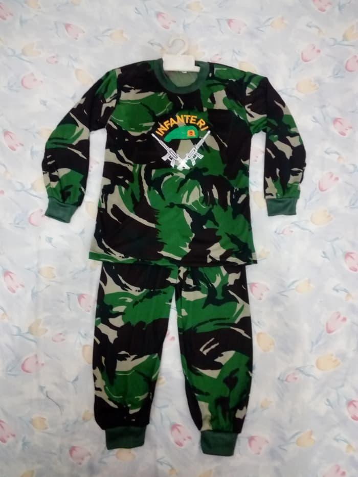 baju loreng anak / setelan anak / baju karnaval 4L / setelan army