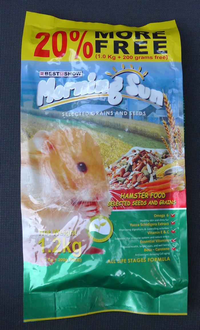 Makanan Hamster Morning Sun 1.2Kg 05-030004