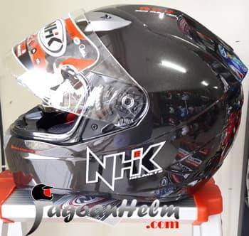 NHK Helm GP1000 SOLID Ringan GP 1000 FullFace || helm kyt / helm bogo / helm full face / helm ink / helm sepeda /helm motor/helm nhk/helm retro/helm anak/helm gm