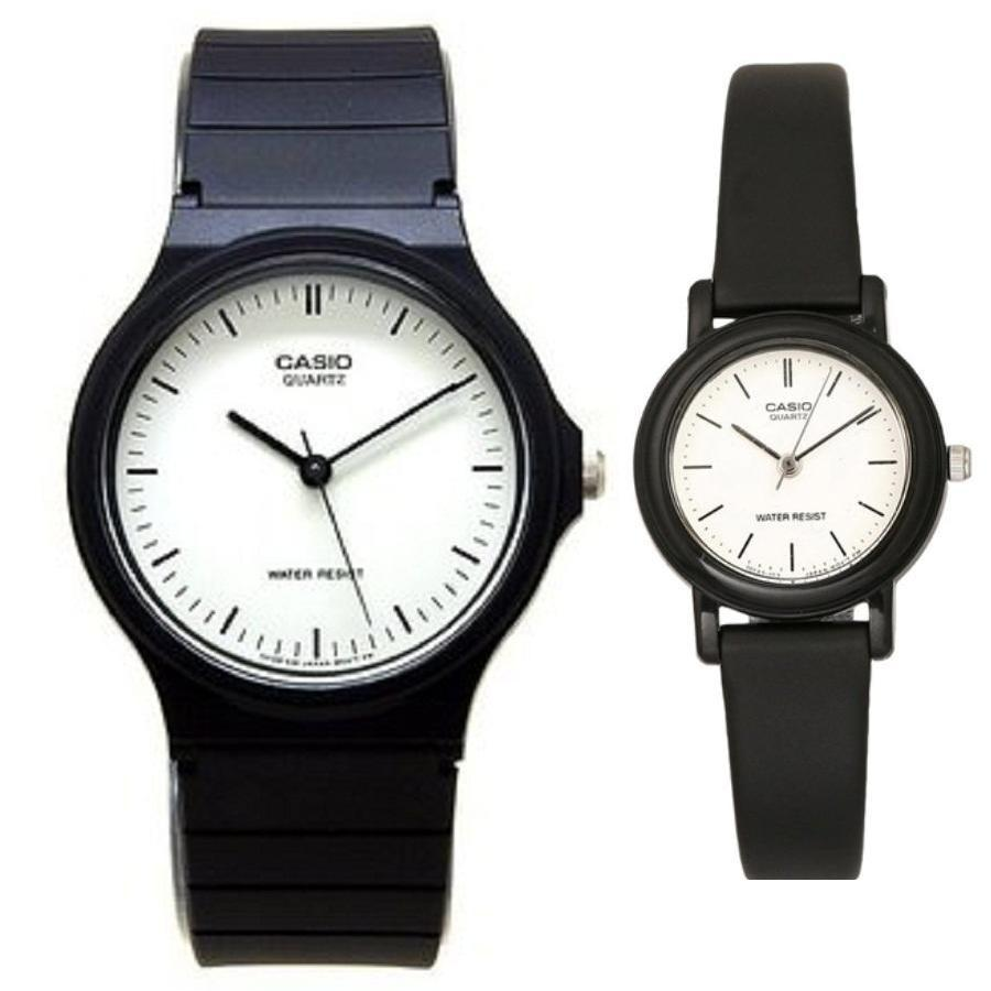 Casio Couple 1314l 8a Jam Tangan Hitam Kulit Daftar Harga Mtp Dan Ltp 1183e 7adf Black White Strap Leather Watch 24 7el