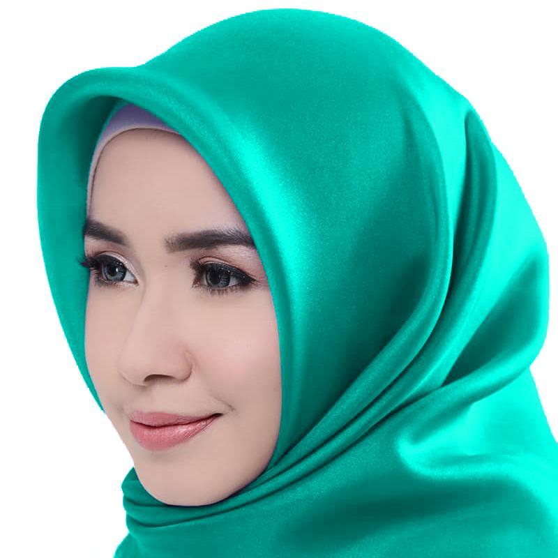 Organza Polos - Jilbab Hijab Kerudung Khimar Segi Empat Organdi