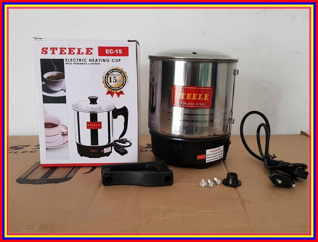 Buy Sell Cheapest Teko Pemanas Elektrik Best Quality Product Deals Electric Heating Cup Q2 11cm Listrik Mug Ec15 Cm Air