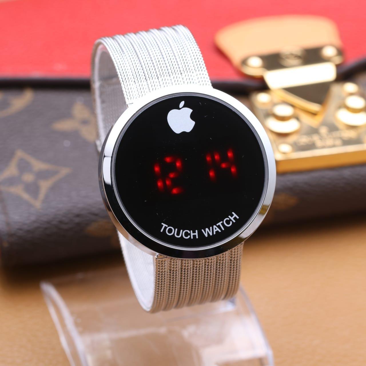 Jam Tangan Wanita Digital Layar Sentuh Apple / Watch Digital Apple 1