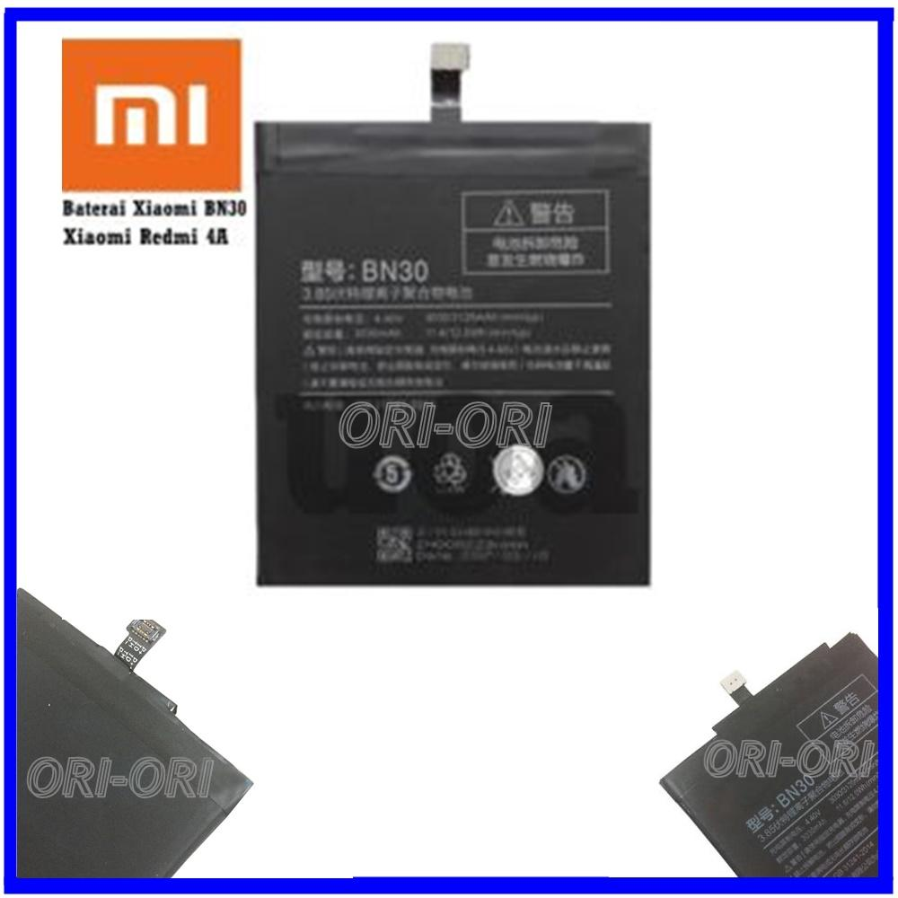 Buy Sell Cheapest Baterai Bn30 For Best Quality Product Deals Batrai Batre Battery Original Xiaomi Redmi4a Redmi 4a Kapasitas 3030mah Sm Acc