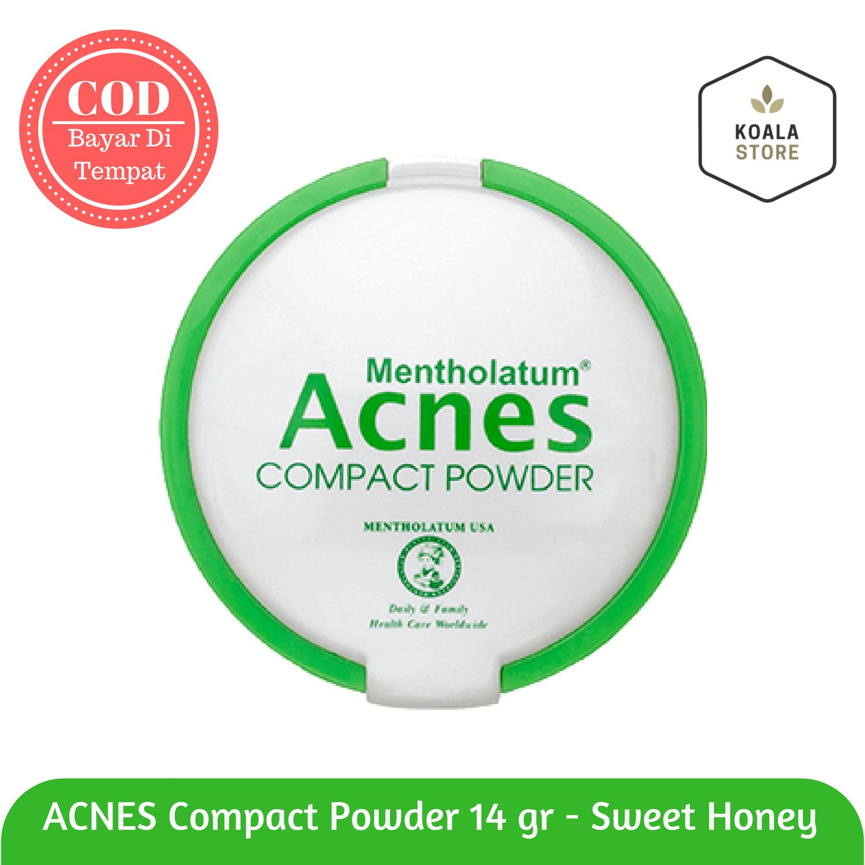 Koala - Acnes Compact Powder 14 gr / Bedak Padat untuk Wajah Berjerawat  / Bedak Perawatan Wajah Berjerawat / Bedak Acne
