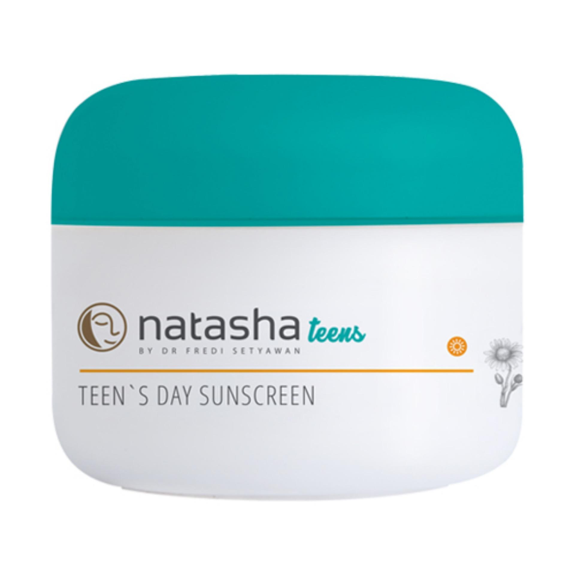 Natasha By Dr Fredi Setyawan Teens Day Sunscreen By Natasha Skin Clinic Centre.