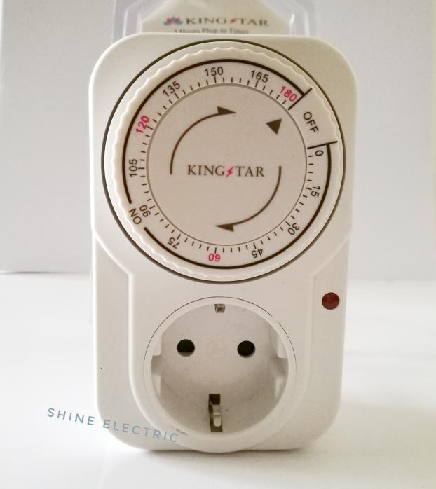 Timer Listrik 3 Jam Kaiser / Colokan Timer Analog / Stop Kontak